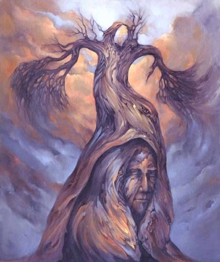 The Shaman's Tree by EtherealArt on Etsy Shamans fascinate me!