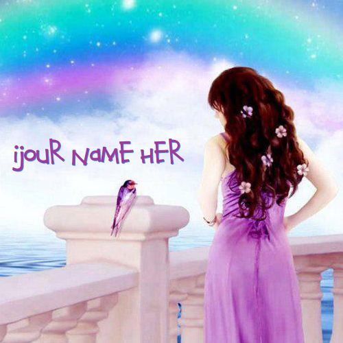 Get your name in beautiful style on Fantasy Girl Colorful picture. You can write your name on beautiful collection of Girls pics. Personalize your name in a simple fast way. You will really enjoy it.