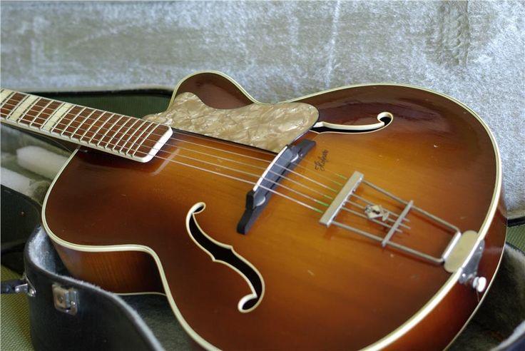 Höfner 457 orkestergitarr på Tradera.com - Akustisk gitarr och bas