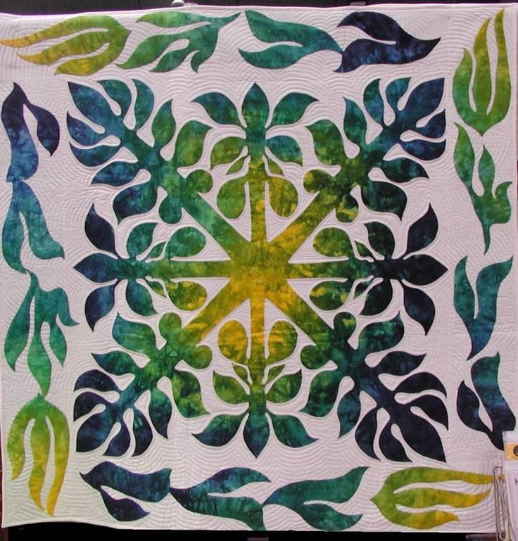 321 Best Hawaiian Quilts Images On Pinterest Hawaiian