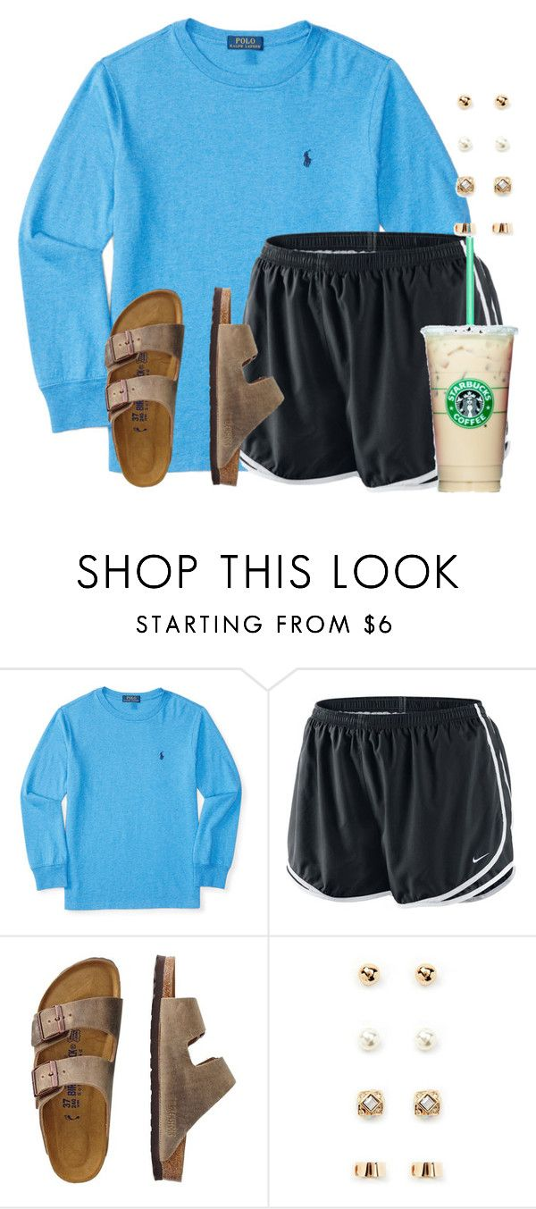 """Just got back from my cross country meet:("" by flroasburn ❤ liked on Polyvore featuring NIKE, TravelSmith, Forever 21 and country"