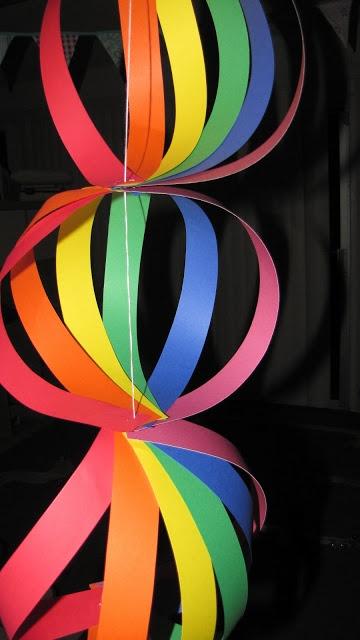 Windelpopo Blog: Rainbow Birthday Party Craft Ideas