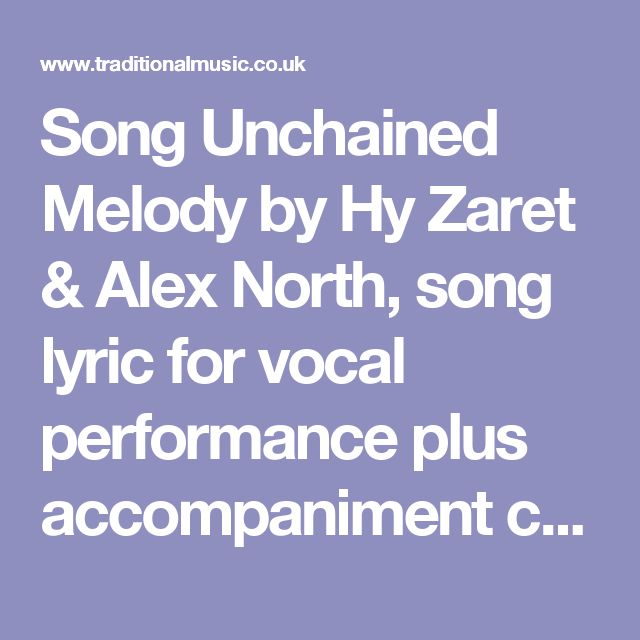 1000+ Ideas About Unchained Melody On Pinterest