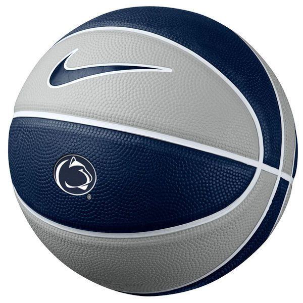 Nike Penn State Nittany Lions 11 Mini Basketball - Navy Blue/Gray