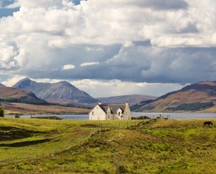 Remote Self Catering Cottage in the Scottish Highlands.