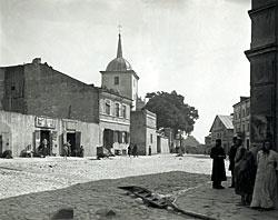 Lublin, Ruska Street 1930's in the Podzamzce district. http://www.adrem.lublin.pl/adrembooks/jerozolima.html