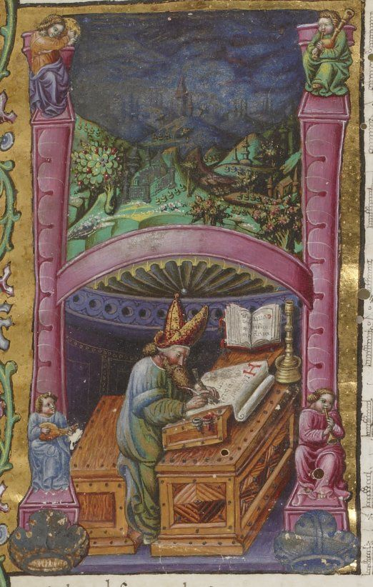 Harley St Jerome >> 17 Best images about Medieval Scribes and Scribal Tools on ...