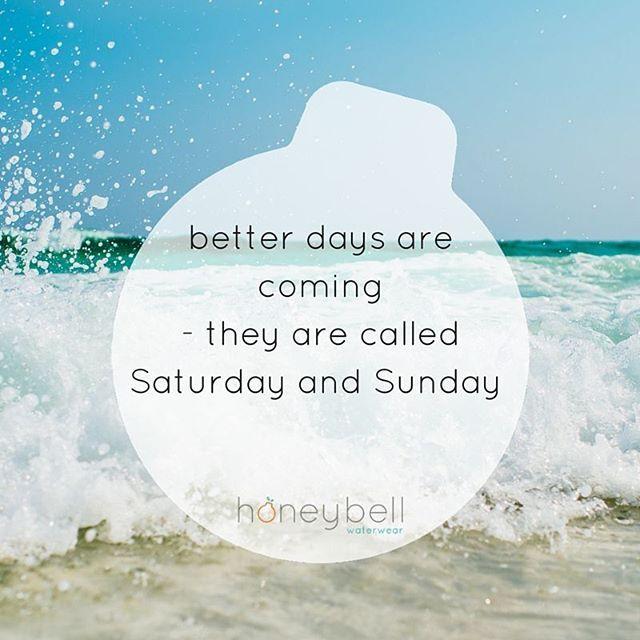 Bring on the weekend!