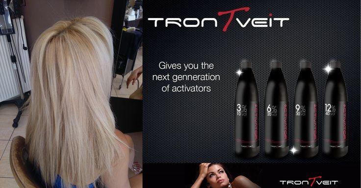 TRONTVEIT ACTIVATOR.Η νέα γενιά των Οξυζενέ! Από την πρώτη στιγμή σε κάθε παροχή που θα κάνετε, η λάμψη των μαλλιών,η ενυδάτωση,η μεταξένια υφή,τα μοσχοβολιστά μαλλιά αλλά πάνω από όλα η θεραπεία από το πρώτο λεπτό είναι ΑΠΕΡΙΓΡΑΠΤΑ!!! Ποτέ ξανά η εμπειρία των πελατών σας δεν θα είναι η ίδια και η δικιά σας δουλειά θα περάσει σε άλλη διάσταση! Ευχαριστούμε το Χρυσα & Βασω beauty salon & Mr Barber. barbershop γιά την φωτογραφία που μοιράστηκε μαζί μας! Οί δικές σας φωτογραφίες!!! Ξανθο!!!!