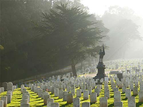 San Francisco National Cemetery - Presidio of San Francisco