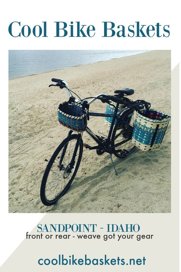 Summer In Sandpointidaho Got Your Coolbikebaskets On Your