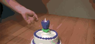 Cool Birthday Cake Candles