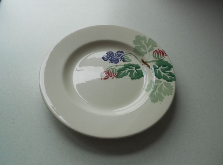 Gooseberry 8.5 inch Plate (Afternoon Tea Exclusive) 2002 (Discontinued)