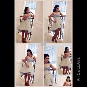 Krisdayanti wearing dress by hengky kawilarang