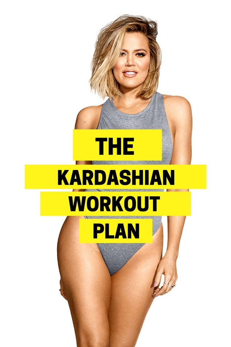 The 7-day challenge that will give you a lean body and a Kardashian booty.