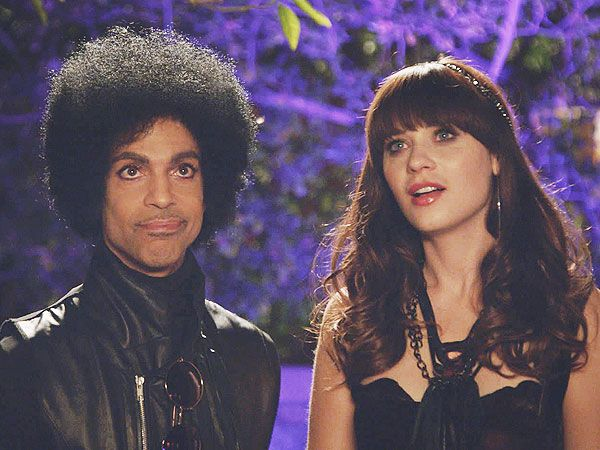 I saw this episode, it was so funny. Prince is actually quite funny!  Prince Guest Stars on 'New Girl'