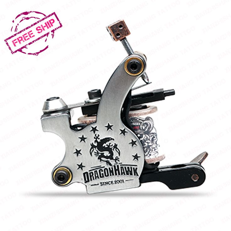 Professional Tattoo Machine New  Best-selling Dragonhawk Tattoo Gun Tattoo Supply WQ4875