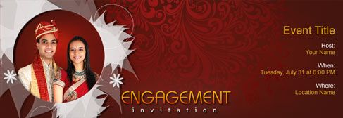 engagement invitation card indian  google search  wedding plans, invitation samples