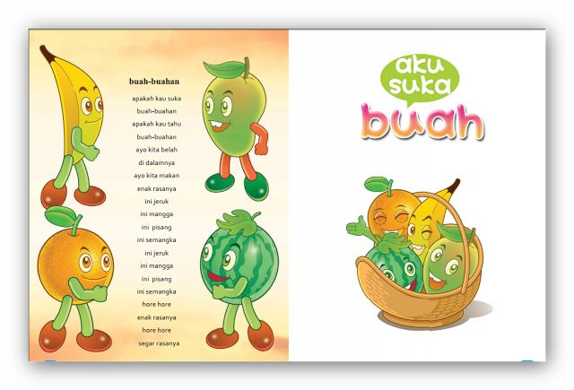 Download Buku Komik Pendidikan Bahan Ajar PAUD/TK dan RA 2017
