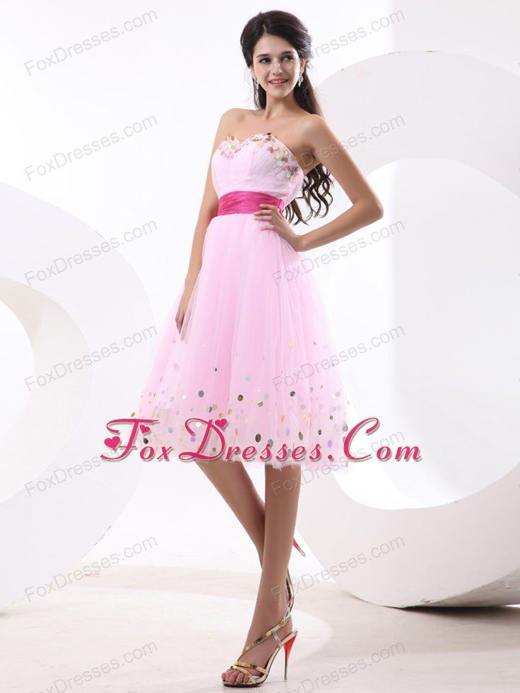 2015 Beautiful Short Pink Cocktail Dress Party Dress [321504051