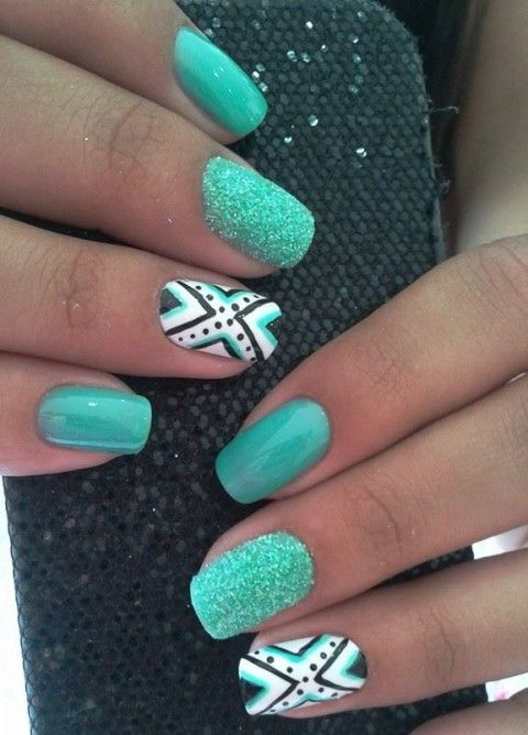 45 Summer Wedding Nails Ideas | HappyWedd.com
