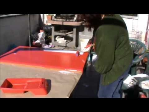 Lokoloko. Instalar vinilo para muebles / How to wrap home furniture with vinyl - YouTube