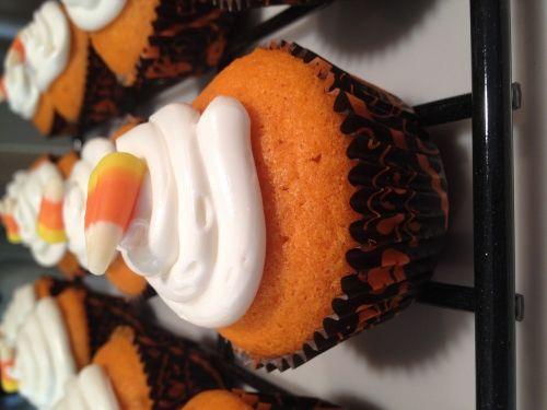 Gluten Free Candy Corn Cupcakes by Priyanka Chugh