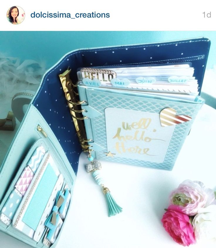 Kikki k Planner: blue set-up                                                                                                                                                                                 More