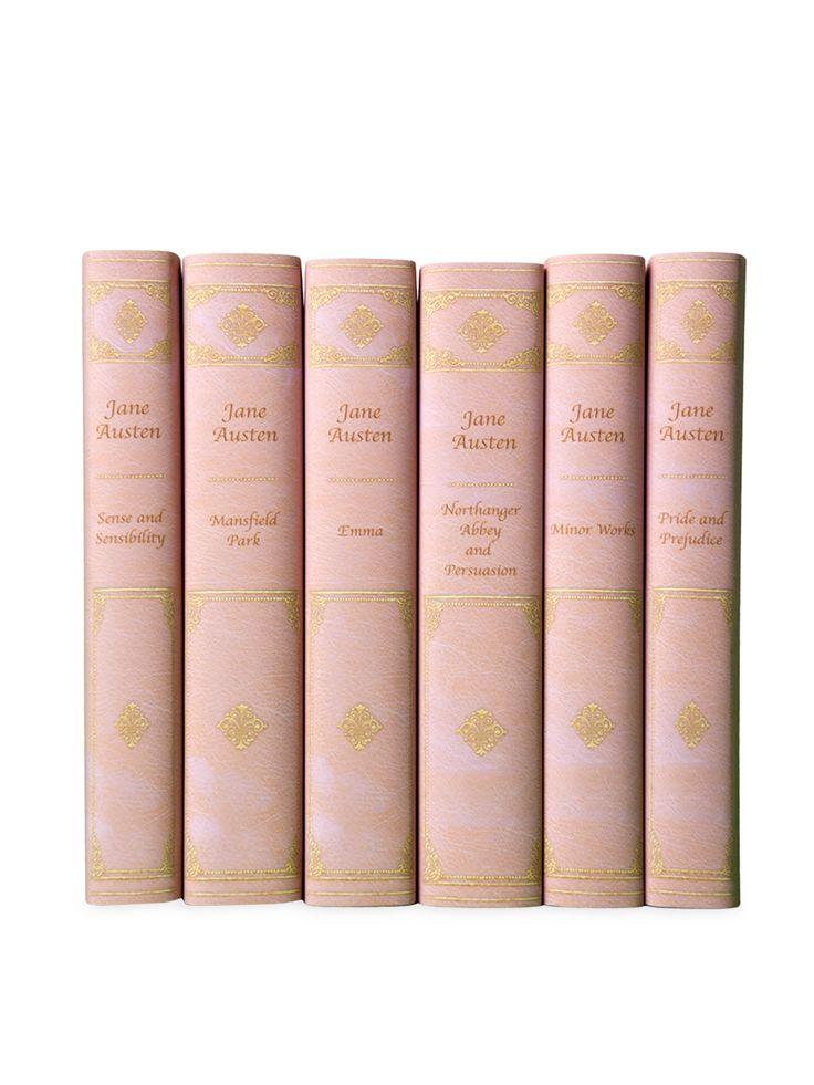 Pink Jane Austen Set - Gilt Home