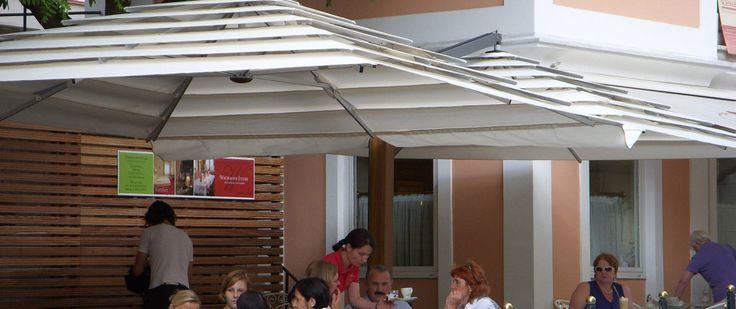 Parasol professionnel pour café ou restaurant - Giglio