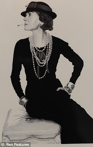 Gabrielle 'Coco' Chanel - 1935 - Photo by Man Ray (American, 1890-1976) - © Rex Features - @Mlle: