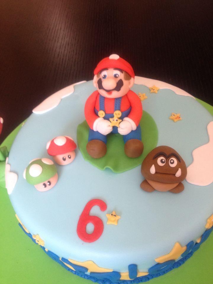 Torta súper Mario bros