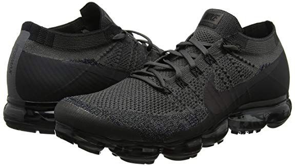 0b600049defa1 Amazon.com | NIKE Men's AIR Vapormax Flyknit Running Shoe Midnight ...