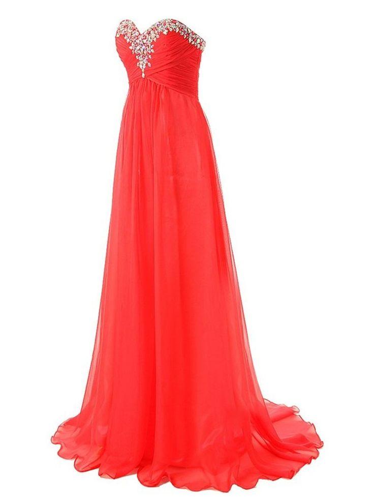 Long Dresses Evening Moroccan Kaftan Dresses Chiffon Rhinestones