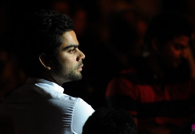 You can just tell from this face that he's a deep thinker, a sensitive soul.   16 Convenient Excuses To Stare At The Unbelievably Sexy Virat Kohli