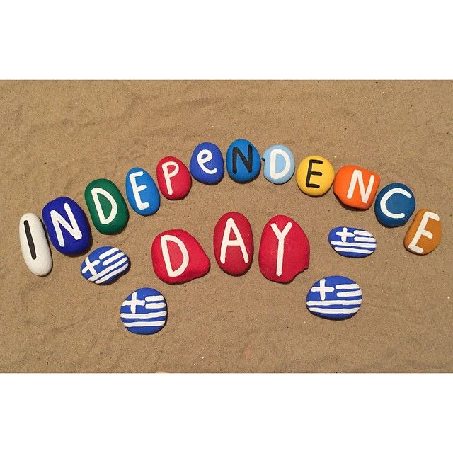 Greece, independence day - your name on stones price 1,3 euro reservation yournameonstones@gmail.com - dotspin
