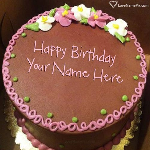 Cake Images With Name Hemant : 17 Best images about Birthday Cakes With Name on Pinterest ...