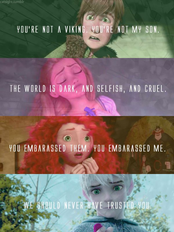 tangled Rapunzel brave how to train your dragon The Big Four merida hiccup jack frost rise of the guardians Rise of the brave tangled dragon