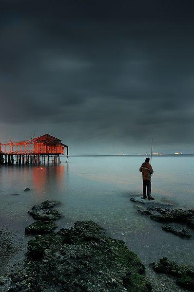 """Aidipsos Island"" by photographer Dimitrios Lamprou"