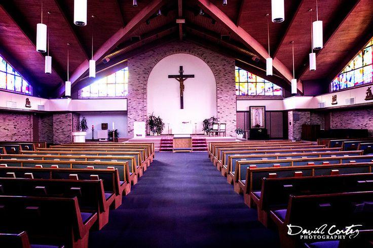 St. John Vianney Catholic Church - Houston, Texas Love the natural light!