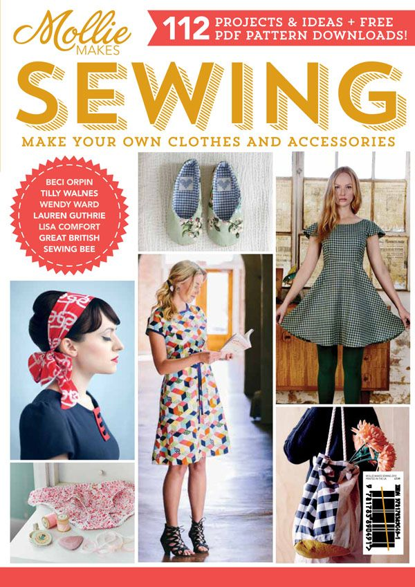 Mollie Makes Sewing magazine http://www.molliemakes.com/craft-2/new-mollie-makes-sewing/