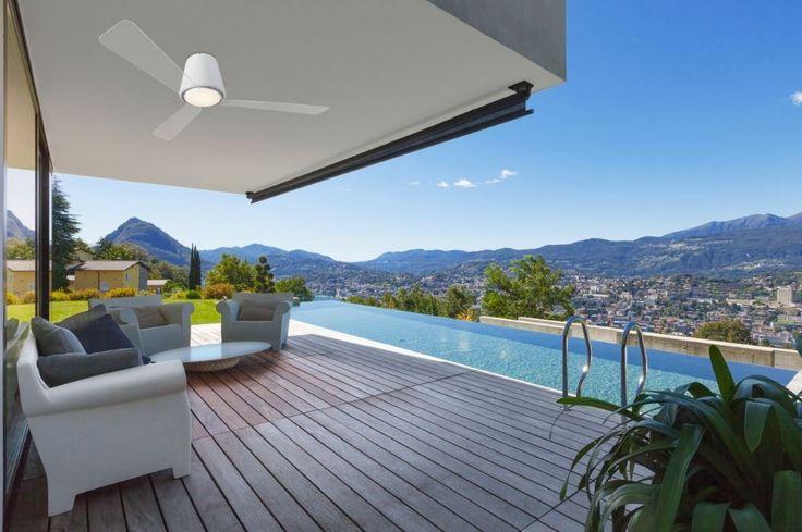 Outdoor Deckenventilatoren Für Terrasse, überdachte Außenbereiche,  Wintergarten Und Ferienhaus   Witterungsbeständig Und Rostbeständig.