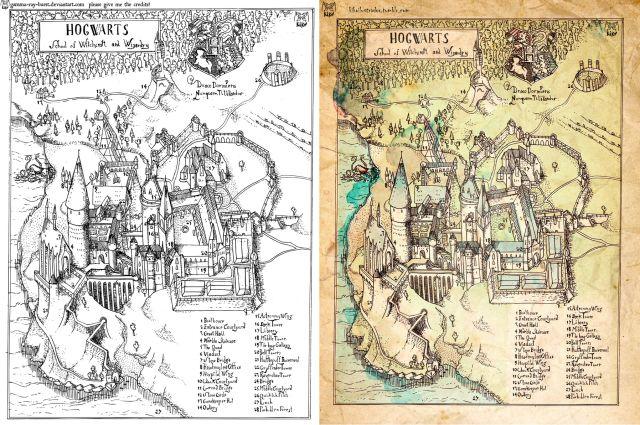 Potter Frenchy Party - Une fête chez Harry Potter: Visuels et illustrations sur le web : goodies Harry Potter sur Deviantart