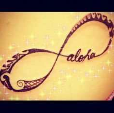 Hawaiian Infinity Tribal Tattoo! Wouldn't get this but it's so adorable