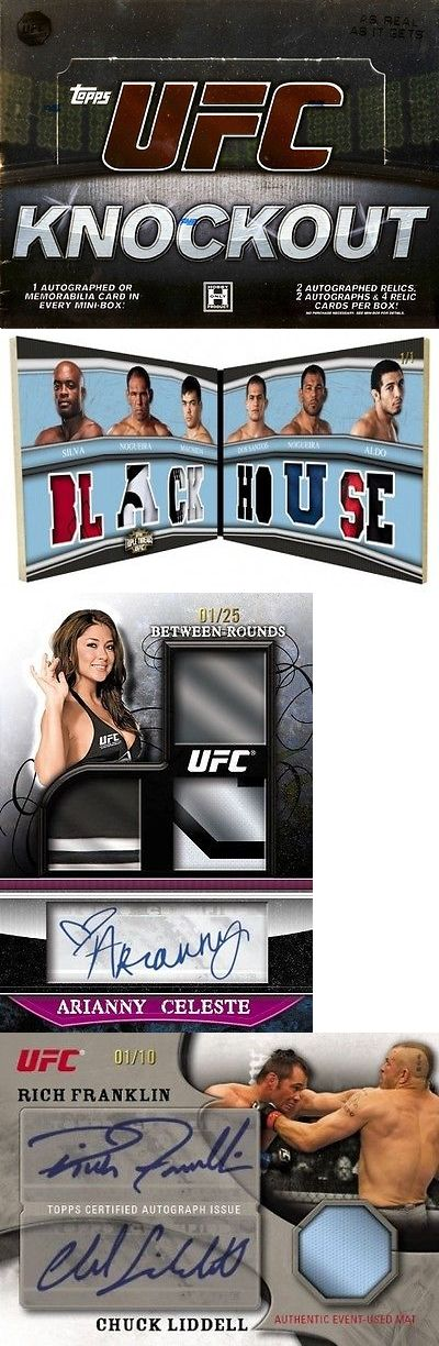 Mixed Martial Arts MMA Cards 170134: 2010 Topps Ufc Knockout Hobby Box -> BUY IT NOW ONLY: $163.95 on eBay!
