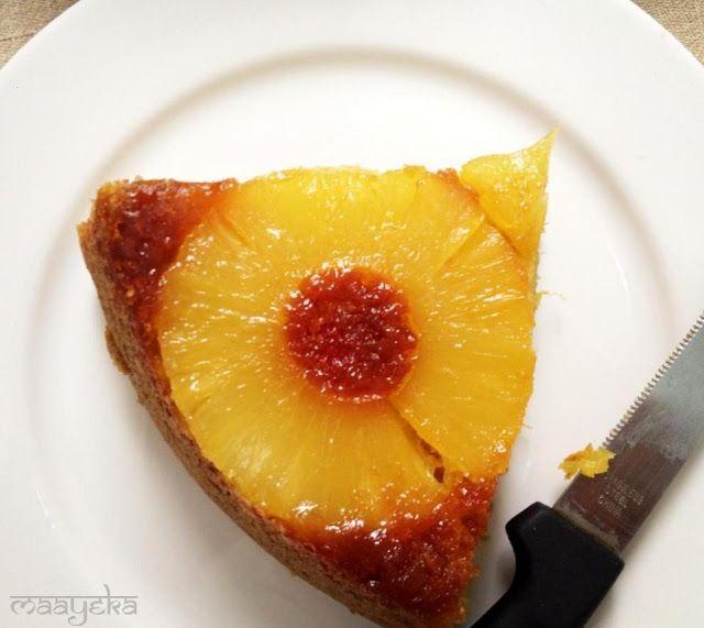 Eggless Sponge Cake Bhavna S Kitchen
