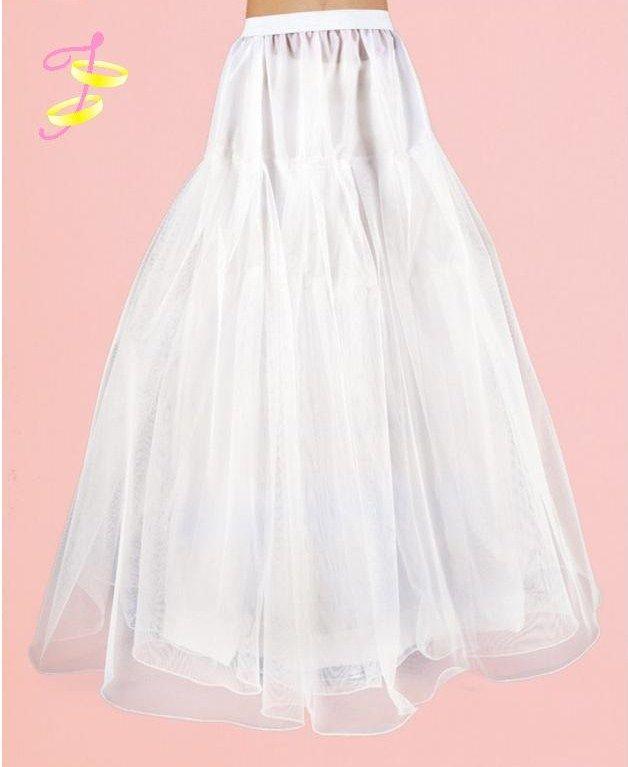 Hoepelrok communie jurk
