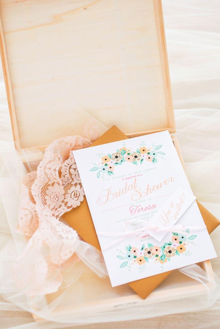 blank beach bridal shower invitations%0A Boudoir Bridal Shower Inspiration