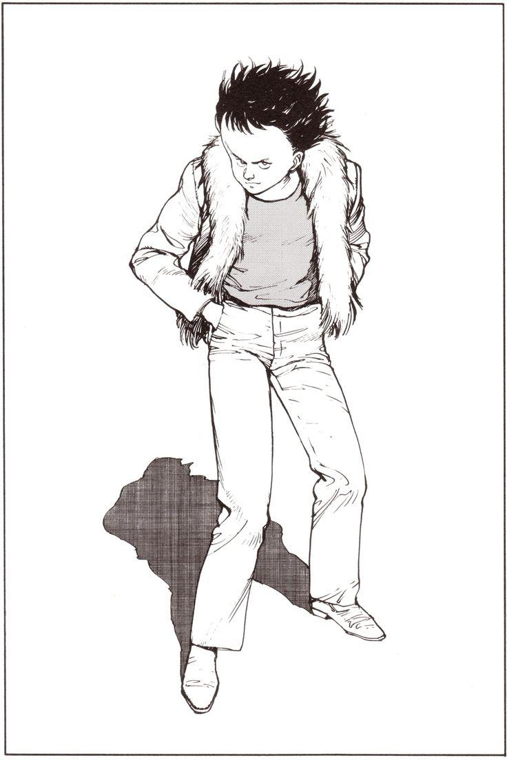 大友克洋 『AKIRA』 扉絵 Episode 027 Young Magazine (February/6/1984) 島鉄雄