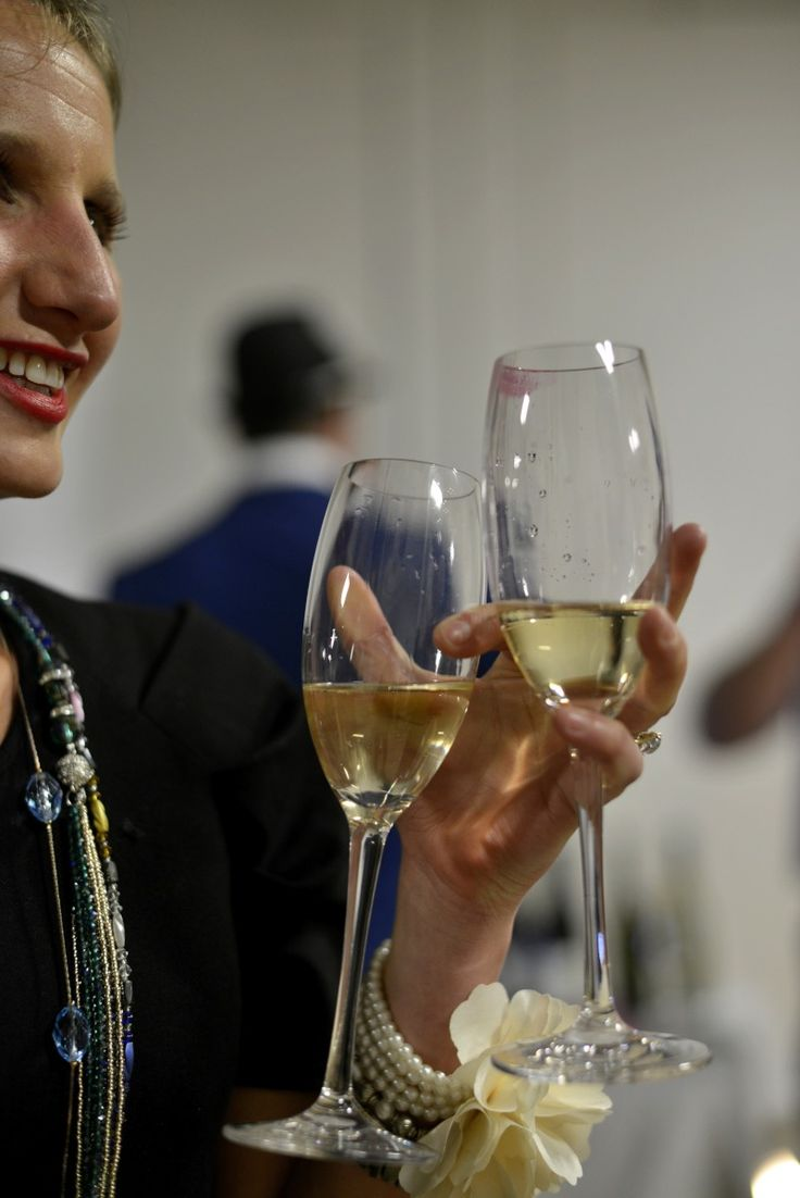 The Plumm outdoor glasses were a roaring success at our Vintage Glamour evening. Photos by Chris Crerar